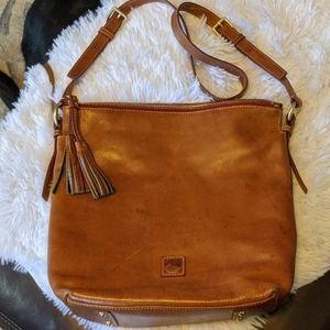 Dooney & Bourke Bags - Large Dooney Leather Crossbody Bag